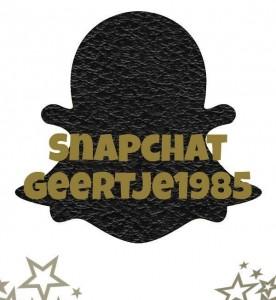 Volg mij op Snapchat!