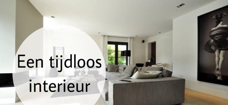 Hoe kies je voor een tijdloos interieur - Interieur decoratie van huizen ...