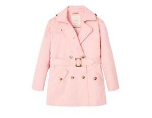 d764329db13863 Dan een jas die ook roze is maar ook wat stoere accenten bevat. Deze jas is  een combinatie van roze en spijkerstof en is van het merk Vingino.