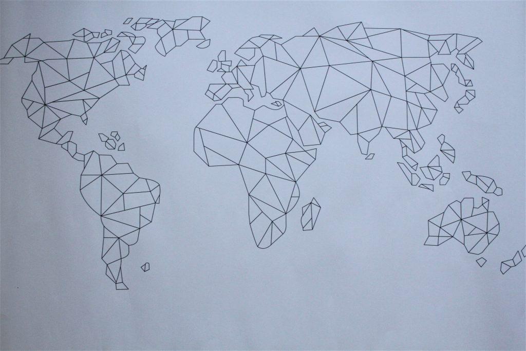 Verwonderlijk Wereldkaarten kunnen ook heel mooi en origineel zijn! +Winactie RA-44
